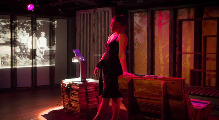 Isabell Stoffel en 'La rendición', de Toni Bentley, bajo la dirección de Sigfrid Monleón. Imagen cortesía de la productora.