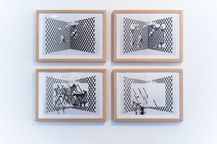 Obras de Fernando M. Romero. Imagen cortesía de la galería PazYComedias
