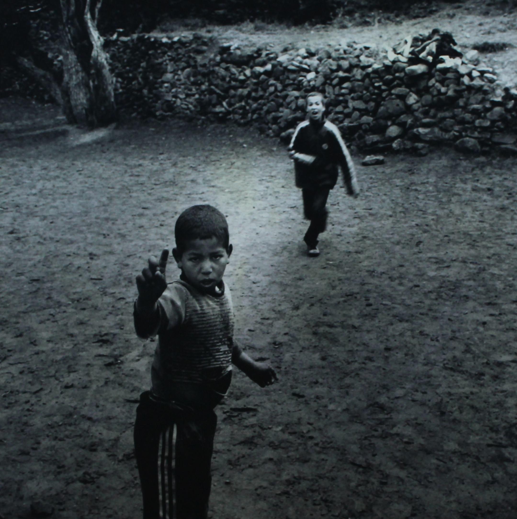 Una de las fotografías mostrada en la exposción. Imagen por cortesía de la galería