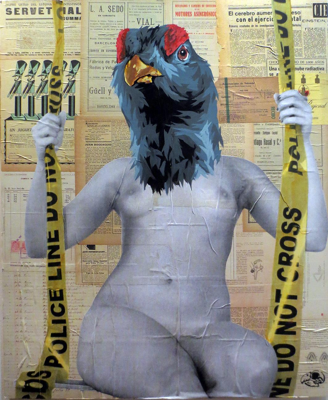 Obra de Vinz. Imagen por cortesía de la galería.