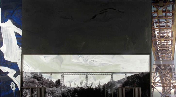 Obra de Antonio Alcaraz en 'Espacios industriales. Patrimonio de futuro'. Imagen cortesía del autor.