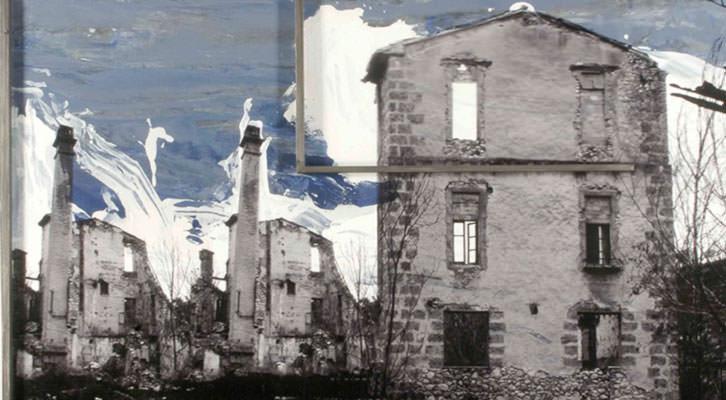 Obra de Antonio Alcaraz en 'Espacios industriales. Patrimonio de futuro'. Imagen cortesía del autor