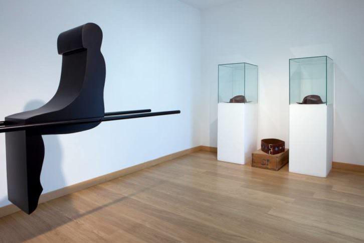 Vista de la exposición.  Imagen por cortesía del Centro de arte Pepe Espaliú