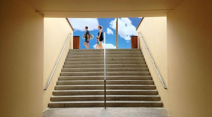 Joan Bennàssar, Sin título (2013). Serie Permanent Vacation. 45x60 cm. Fotografía digital – Impresión inkjet sobre papel Harman