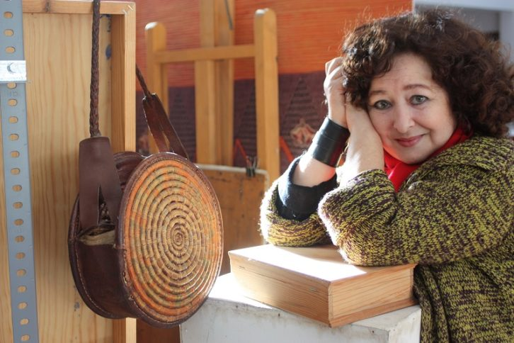 Carmen Grau en su taller