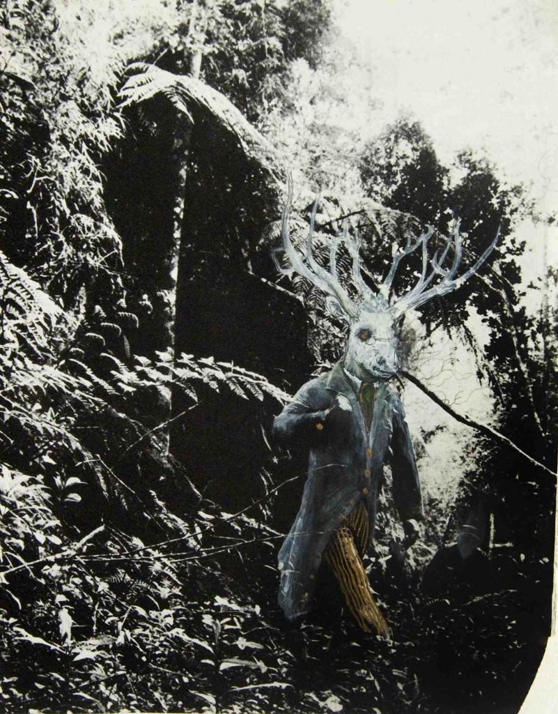 Ciervo blanco, de José Luis Serzo. Imagen cortesía de Kir Royal.