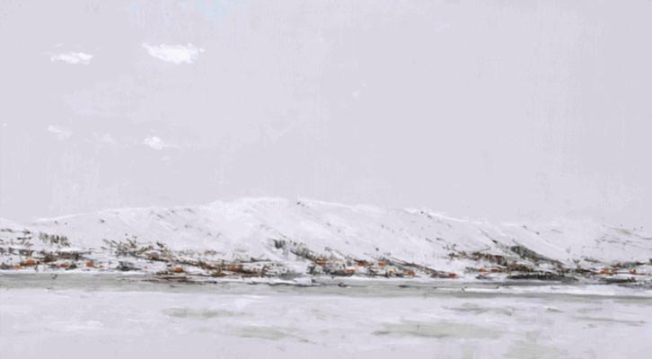 Obra de Calo Carratalá de su serie Noruega 2011. Imagen cortesía de Galería Cuatro.