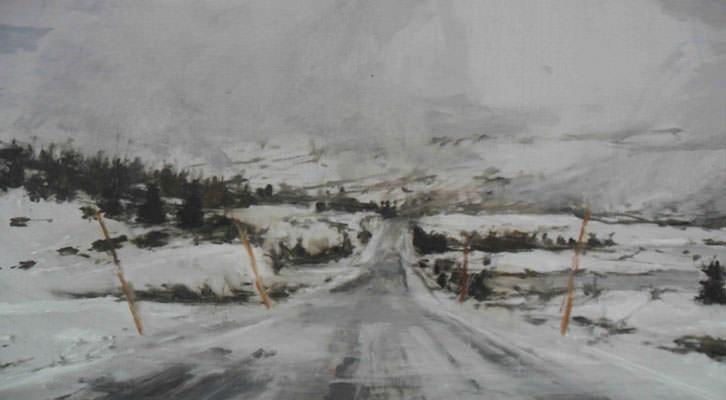 Obra de Calo Carratalá de su serie Noruega 2011.