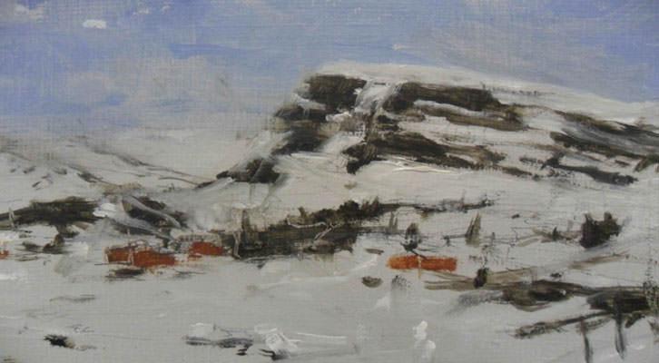 Obra de Calo Carratalá de sus serie Noruega 2011.