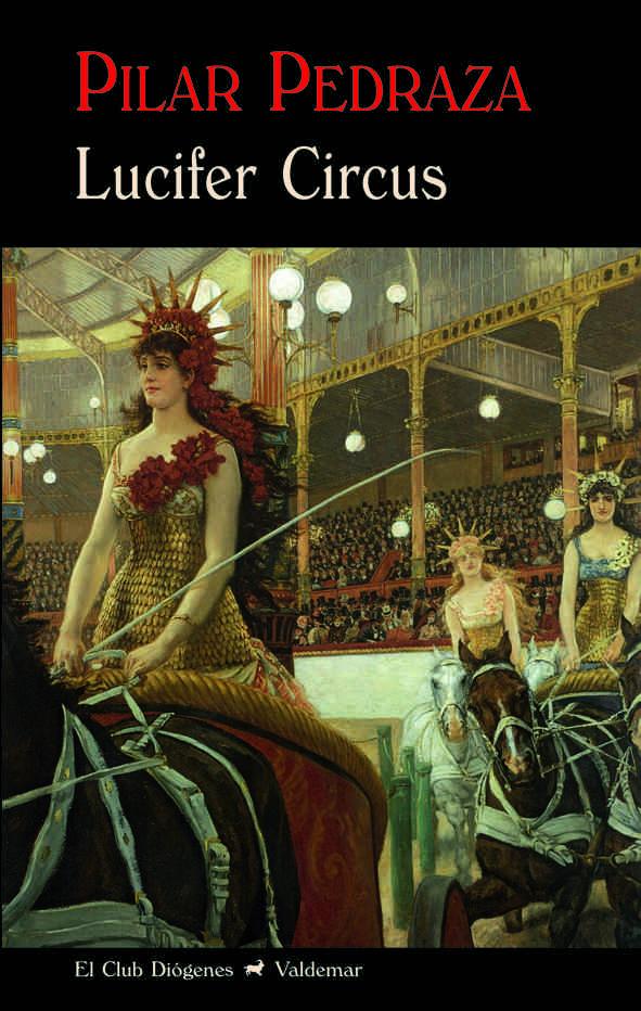 Portada del libro Lucifer Circus.
