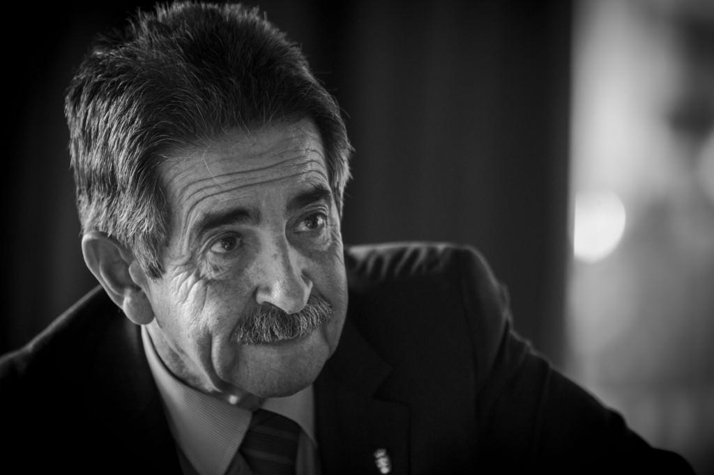 Miguel Ángel Revilla. Fotografía: Miguel Lorenzo