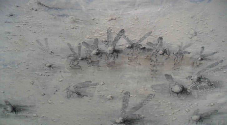 Obra de Miquel Barceló, de la colección de Soledad Lorenzo.