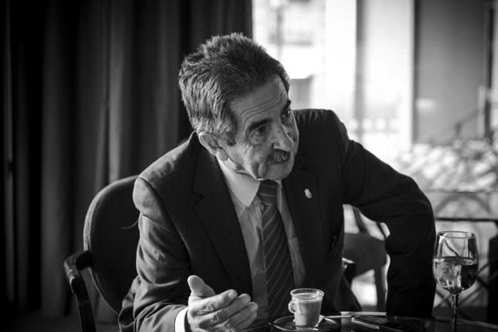 Miguel Ángel Revilla. Fotografía: Miguel Lorenzo.