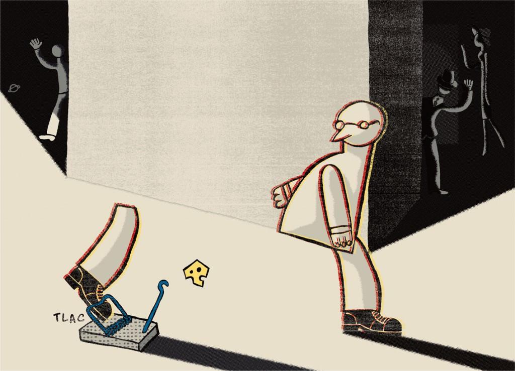 Ilustración de Carlos Ortin. Imagen cortesía del autor.