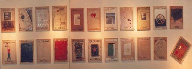 Tarot imaginario. (Col. IVAM).22 piezas de 42x29 cts. 1983-84