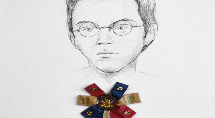 Obra de Andrea Canepa en el stand de la galería Rosa Santos en ARCO.