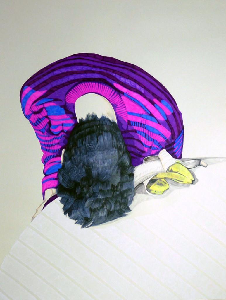 Obra de Azucena González. Imagen cortesía de Mr. Pink.