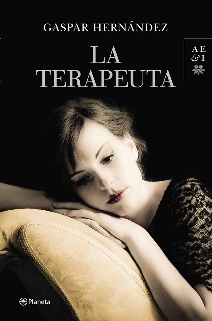 Portada del libro La terapeuta, de Gaspar Hernández.