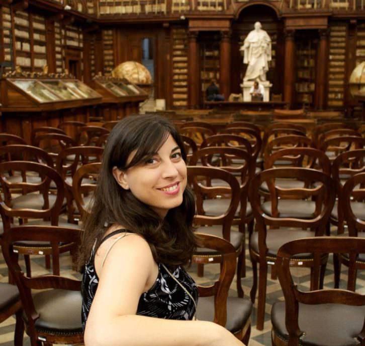 Ester Alba Pagán. Foto Adela Talavera.