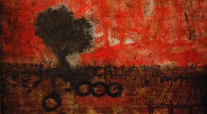 Obra de Joan Forniés, de la exposición 'Paisaje condicionado' en Centro del Carmen. Imagen cortesía del Consorcio de Museos de la Generalitat Valenciana