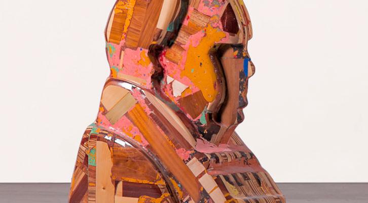 Obra de Rubén Fuentes Fuertes. Imagen cortesía de la galería Alba Cabrera.