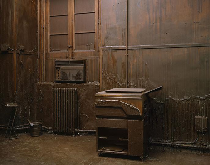 Obra de Greta Alfaro, en 'European Dark Room'. Imagen cortesía de la galería Rosa Santos