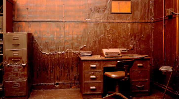 Obra de Greta Alfaro, de 'European Dark Room'. Imagen cortesía de la galería Rosa Santos.