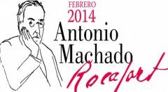 Cartel anunciador del homenaje a Antonio Machado en Rocafort (Valencia), por cortesía de la organización.