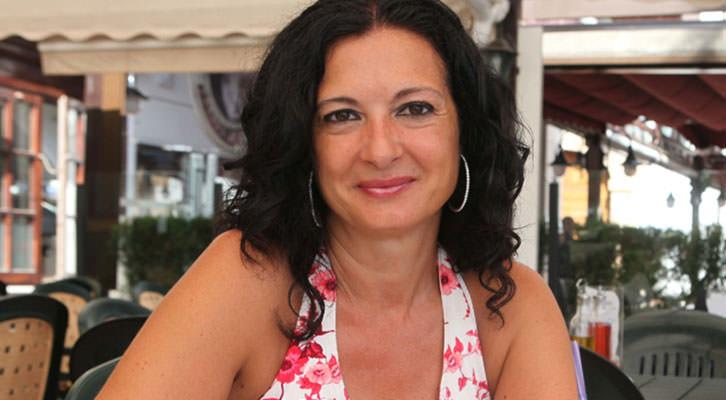Ana Noguera, poeta y miembro del Consell Valencià de Cultura.