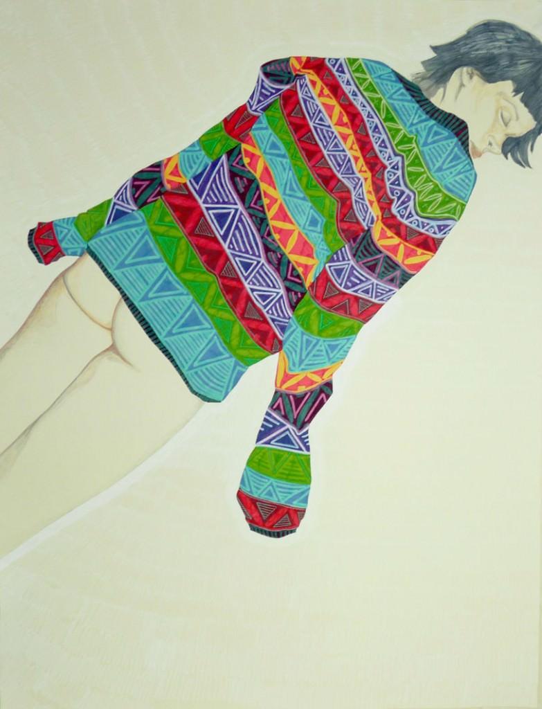 Obra de Azucena González. Imagen cortesía de Mr. Pink