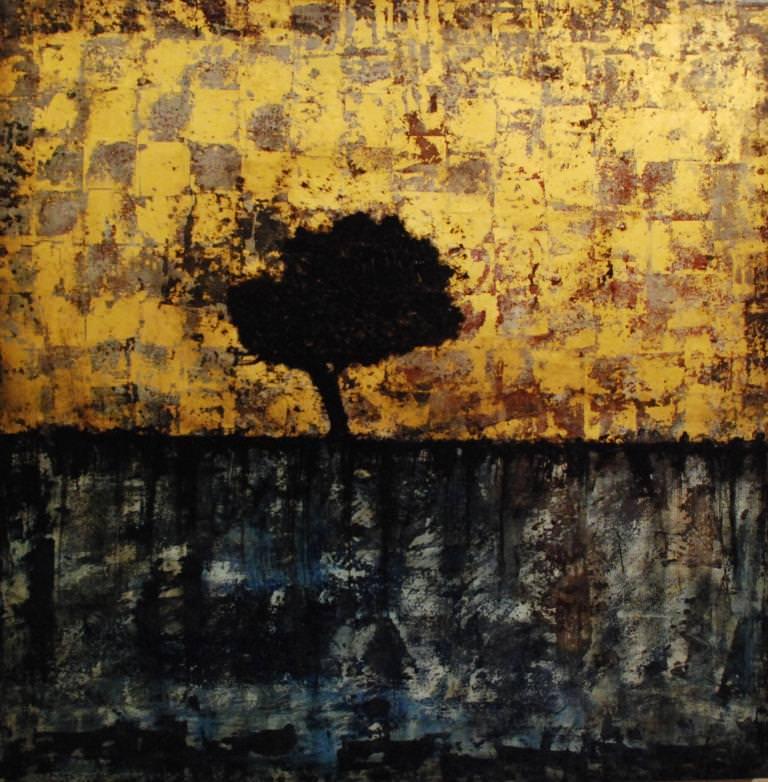 Obra de Joan Forniés, de la exposición 'Paisaje condicionado' en Centro del Carmen. Imagen cortesía del Consorcio de Museos de la Generalitat Valenciana.
