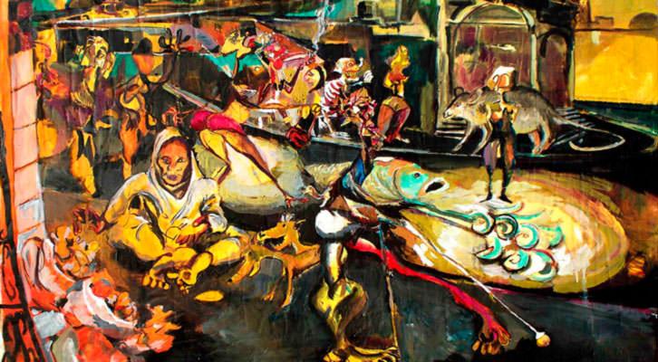 Obra de Carlos Andújar. Imagen cortesía de Galería Muro.