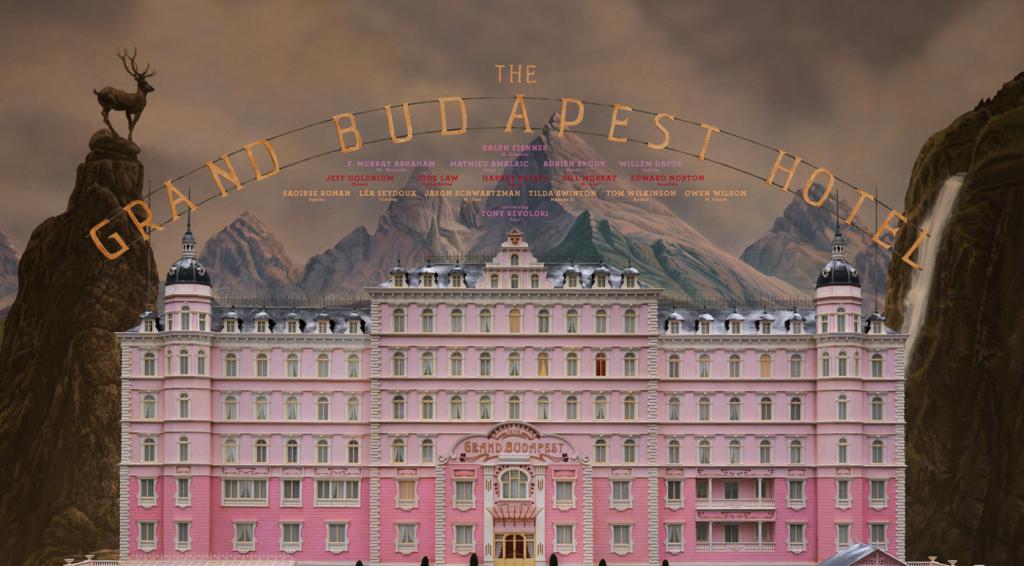 Budapest1. Una de tantas maquetas para El Gran Hotel Budapest (Wes Anderson, 2014)