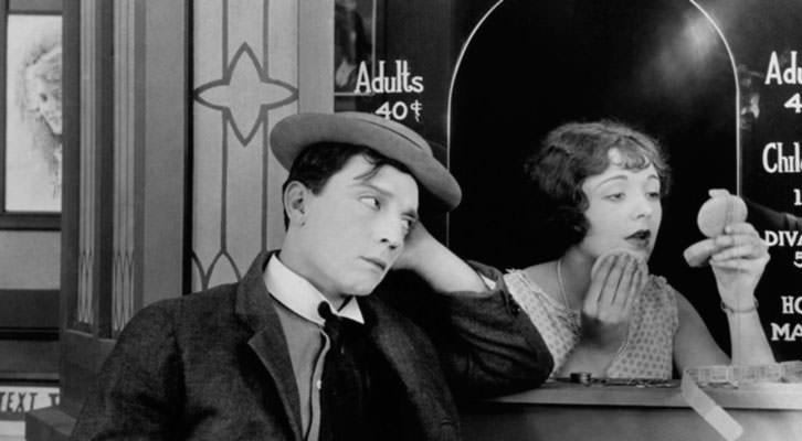 Fotograma de 'El moderno Sherlock Holmes', de Buster Keaton. La Cabina Classics
