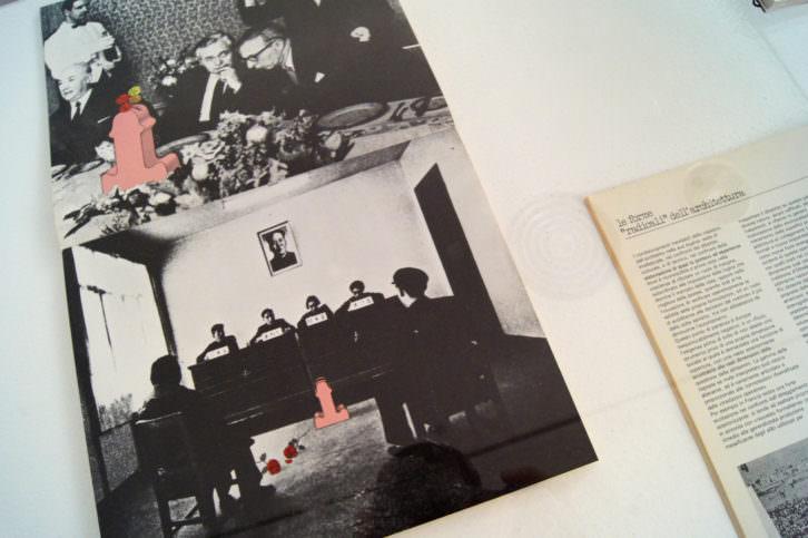 """Fotografía de la exposición """"Efectos colaterales: más allá de Milano Radicale"""". Imagen cortesía de la Sala d'Art Jove."""