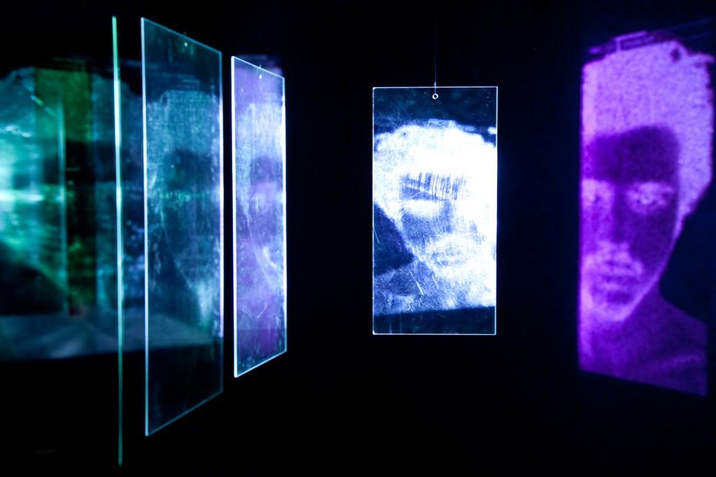 """Lois Patiño """"Ecos del rosto"""" (videoinstalación en Eco de la imagen). Imagen cortesía de la galería."""