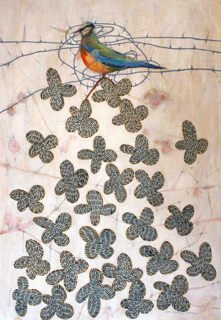Emboscada, obra de Ana Karina Lema. Imagen cortesía de Espacio40