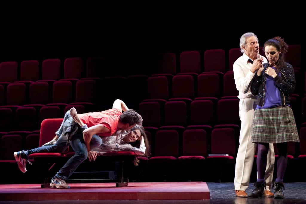 Una escena de 'Ensayando a Don Juan', de Albert Boadella. Imagen cortesía de Teatro Olympia.
