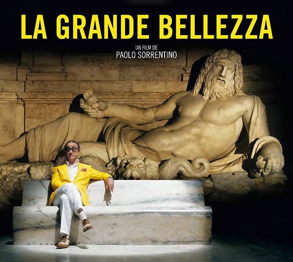 Cartel oficial de La gran belleza (La grande belleza, Paolo Sorrentino, 2013).