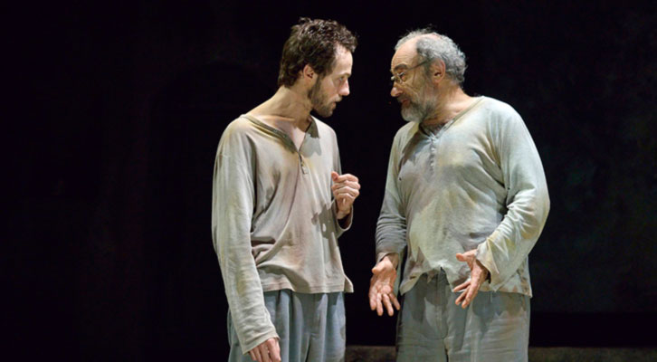 Una escena de L'estranger, de Rodolf Sirera y Carles Alfaro. Imagen capturada en  la red.