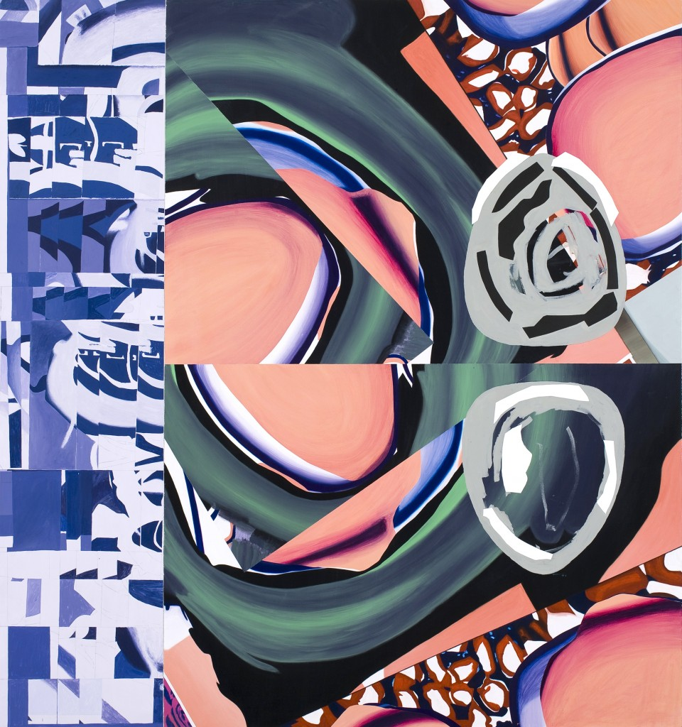 "Luis Gordillo ""Firmamentos interiores B"" (XXL/XXI - 2010). Imagen cortesía de Artium."