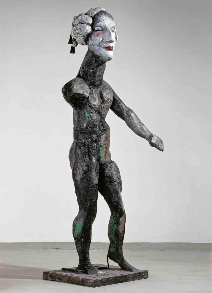 Obra de Markus Lüpertz. Imagen cortesía del Museo de Bellas Artes de Bilbao.