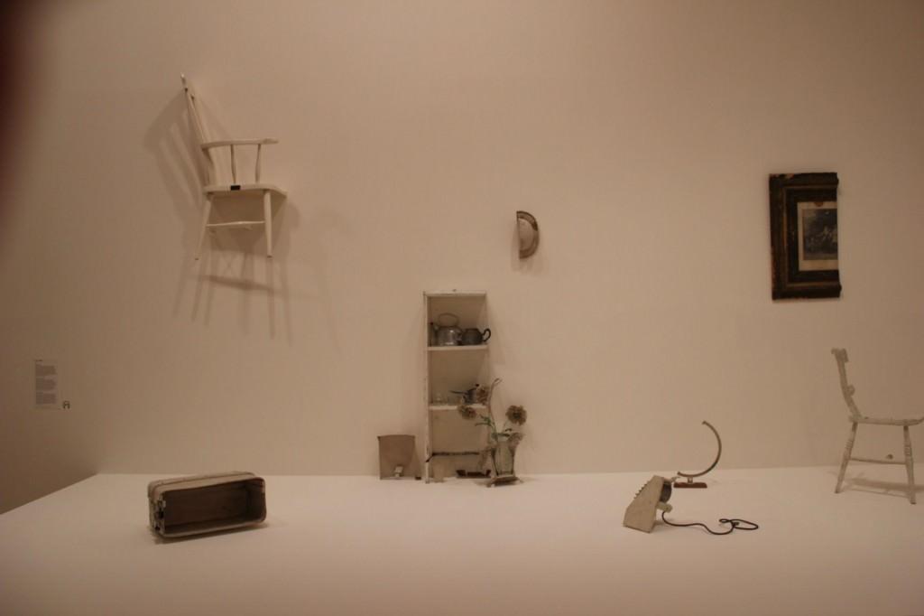 Media habitación, de Yoko Ono, en el Museo Guggenheim de Bilbao.