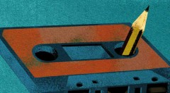 Detalle de portada de libro.