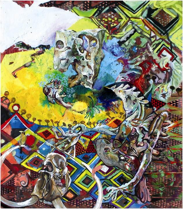 Obra de Carlos Andújar. Imagen cortesía de Galería Muro