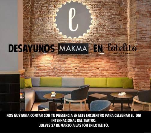 Desayunos Makma en Lotelito de Valencia.
