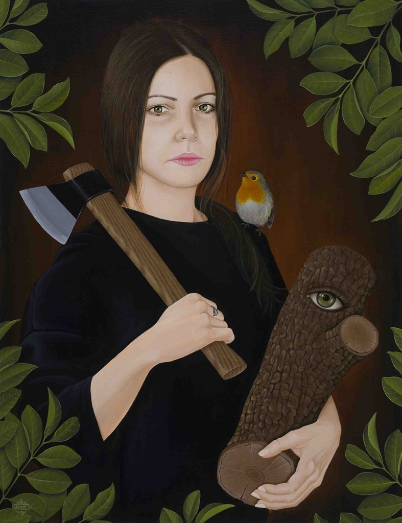 Obra de Rubenimichi. Imagen cortesía de Espai Tactel.