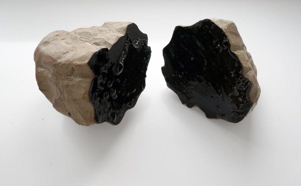 Stone Mountain (Tierras Continuas) de la artista María García Ibáñez. Imagen cortesía de la AJG Gallery.