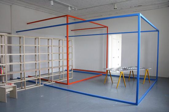 """José León Cerrillo, """"Lugar ocupado por cero"""", (2013). Imagen cortesía del proyecto a3bandas."""