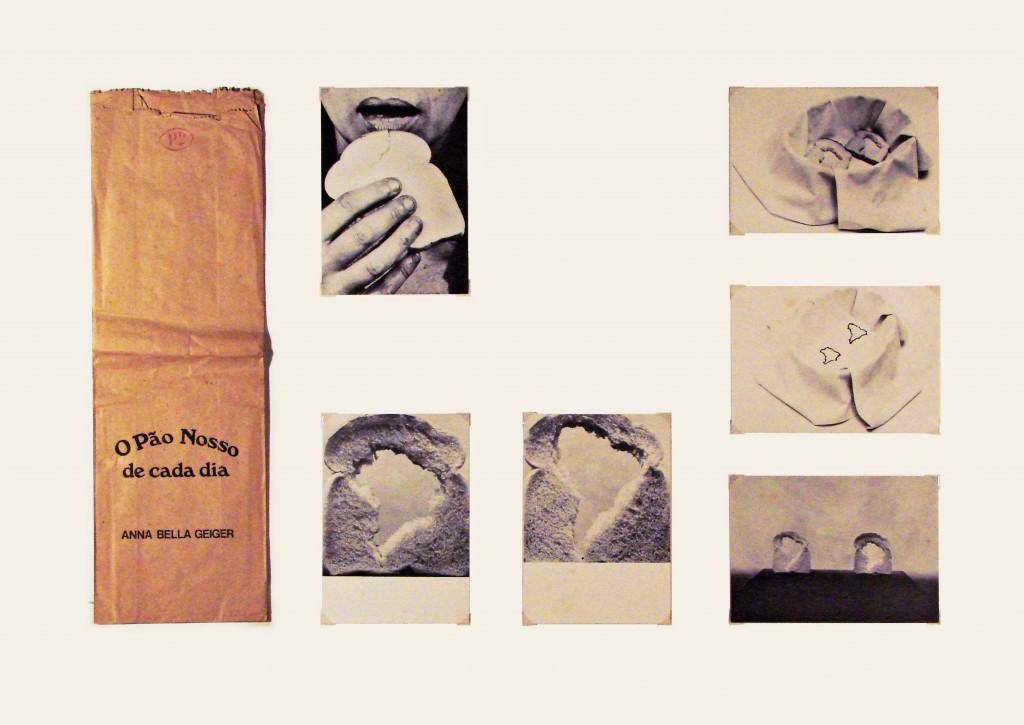 """Anna Bella Geiger, """"O Pao Nosso de Cada Dia"""" (1978). Imagen cortesía de la galería."""
